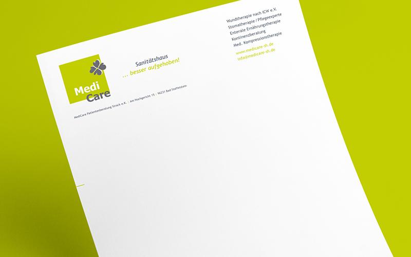 medicare-mediendesign-briefpapier-gestaltung